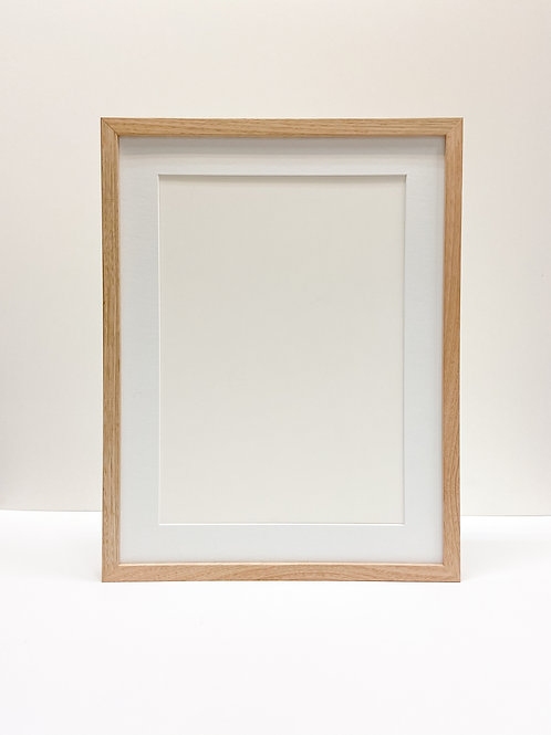Raw Oak Ready Made Frame