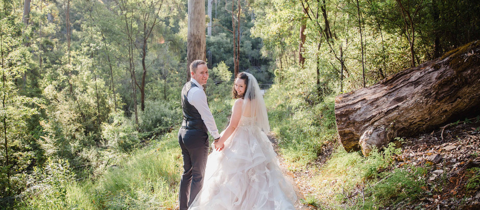 Jess & Graham's Karri Valley adventure Wedding