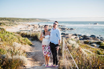 Scenic couple's photography in Margaret River