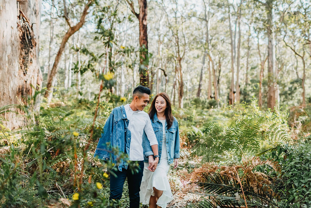 Couple photography in Margaret River