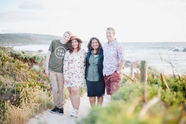 Family photograpy at the beach in Margaret River