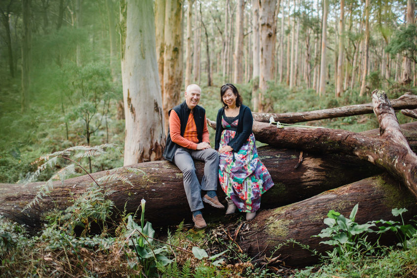 Wedding anniversary at Boranup Forest - Margaret River. This setting is a photographer's dream.