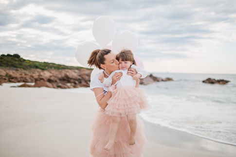 Family photography at the beach in Margaret River