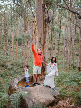 Family experience at Boranup Forest during the Margaret River Photographer session with Dian Sarah