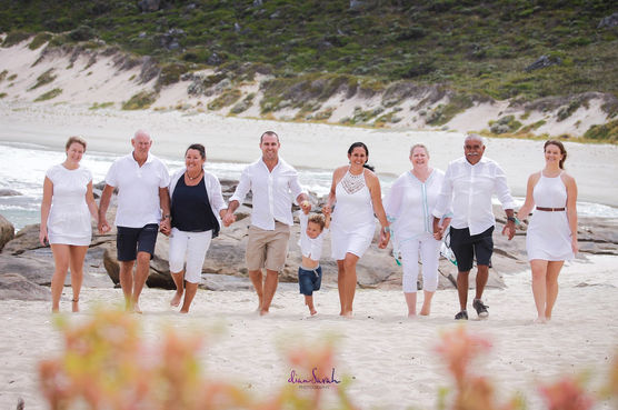 Group photo on the beach at Margaret River