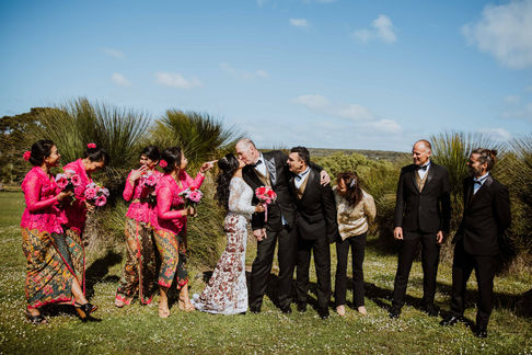 Wedding in Yallingup