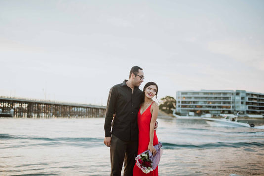 Ayu and Mark in Fremantle