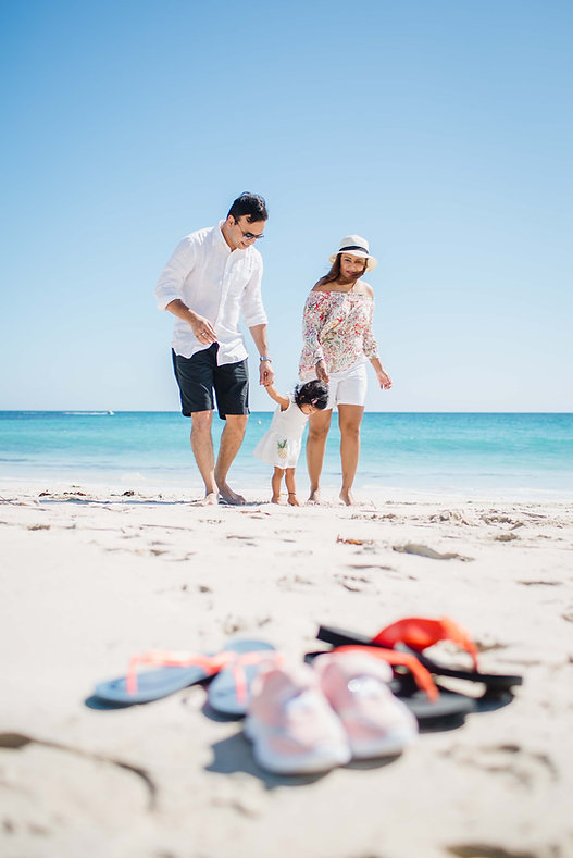 Beach adventure family photography in Dunsborough,WA