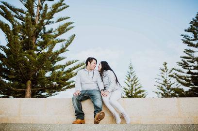 Engagement Photoshoot in Busselton