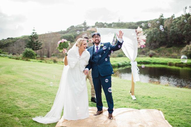 Wedding photography at Injidup Margaret River