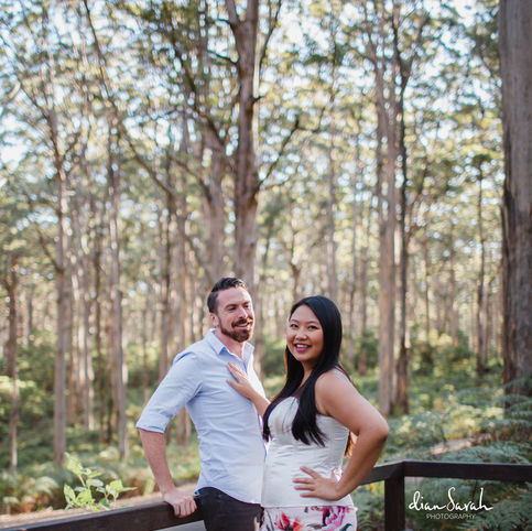 This couple is in Boranup Forest, Margaret River for this photography session