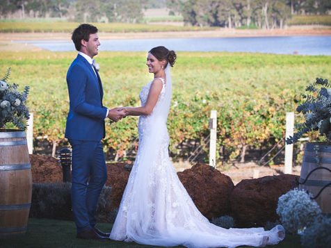 Winery wedding photography in Margaret River