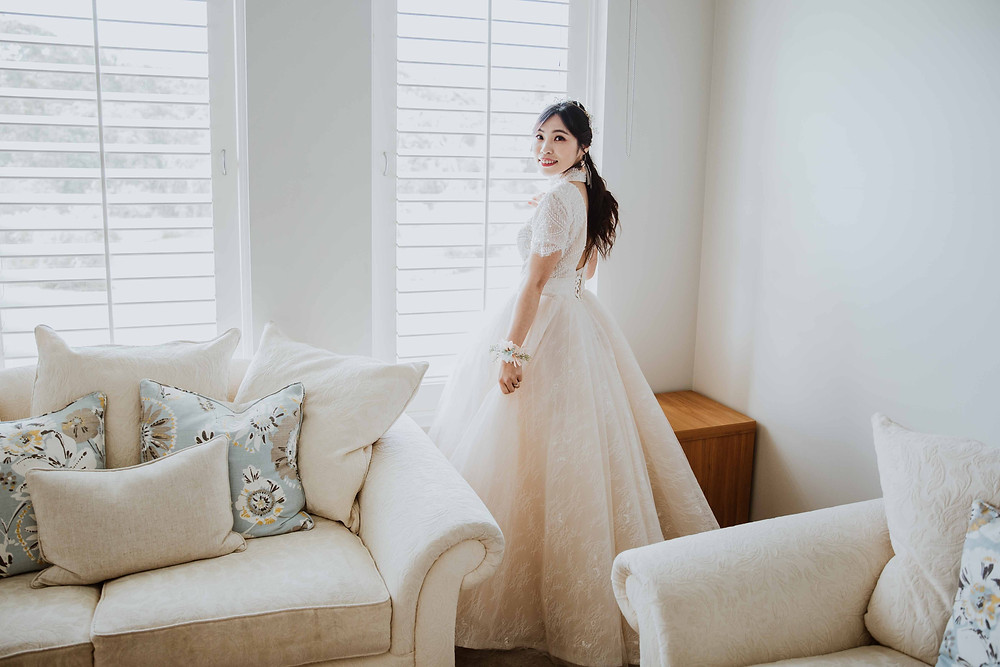 Getting Ready wedding photography in Margaret River