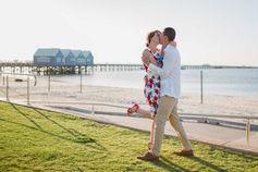 Romantic wedding photography at Busselton Jetty