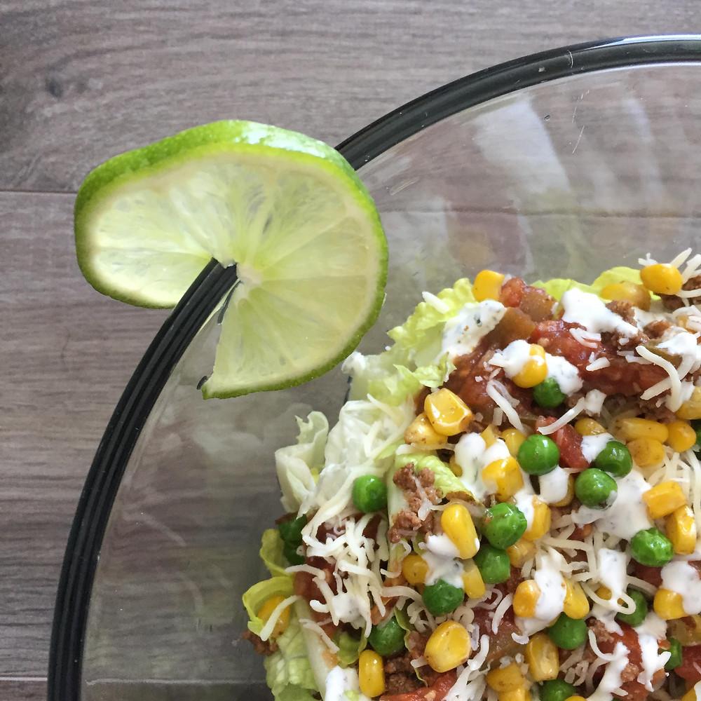 Taco Salad | Salt & Light Natural Wellness