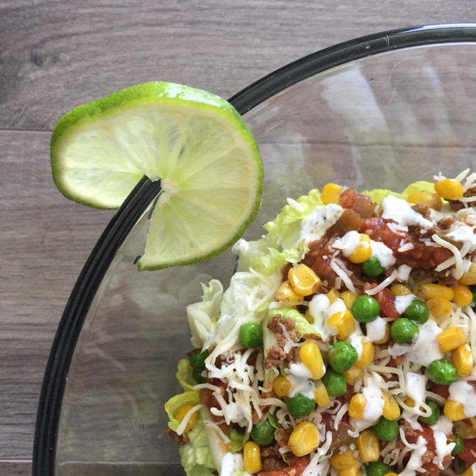Quick Lunch: Taco Salad Bowl