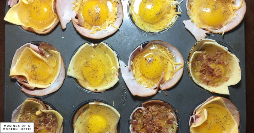 Low Carb Egg Cups