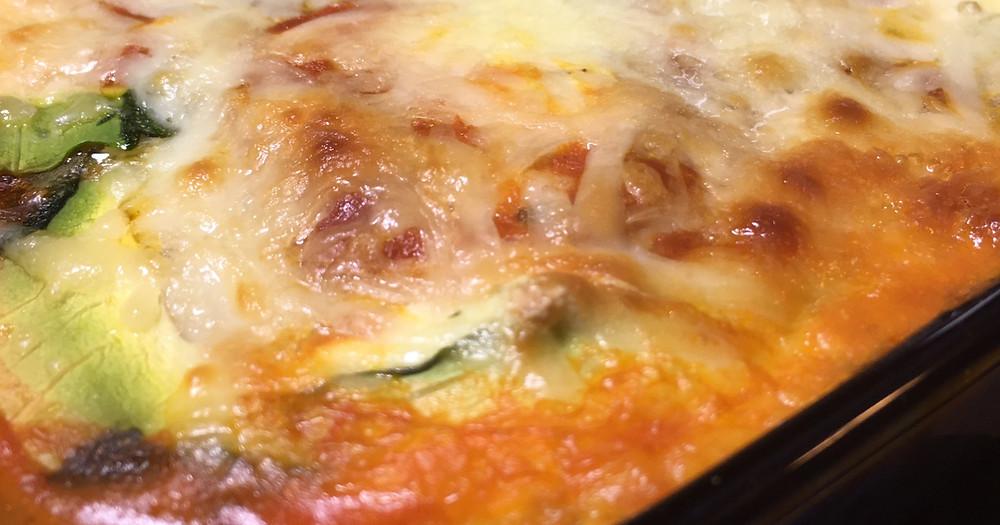 Low Carb Zucchini Lasagna | Salt & Light Natural Wellness