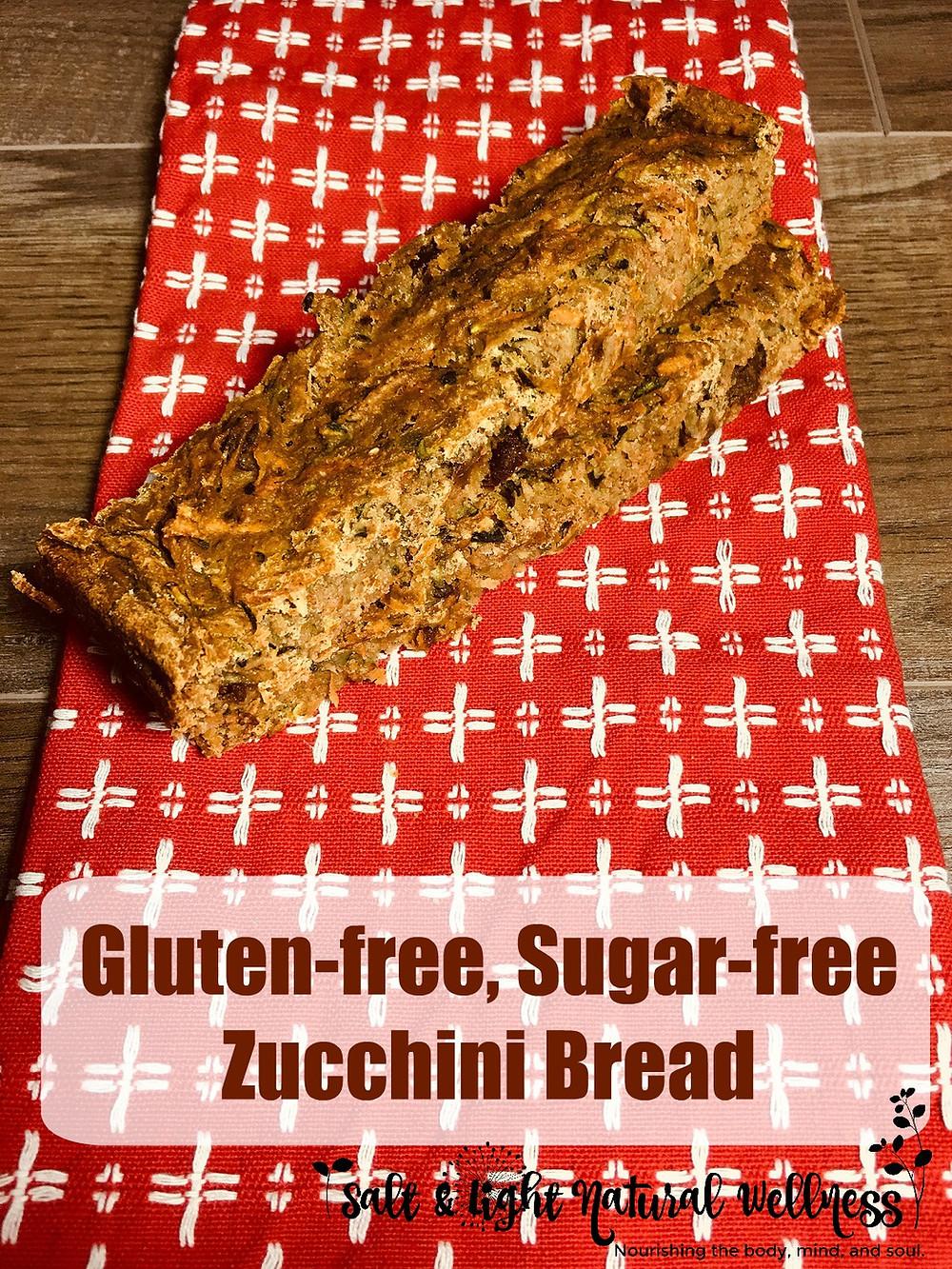 GF/SF Zucchini Bread | Musings of a Modern Hippie