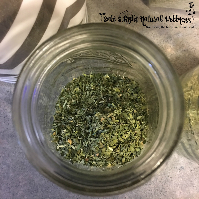 Nourish the Body: Make Nourishing Herbal Infusions | Salt & Light Natural Wellness