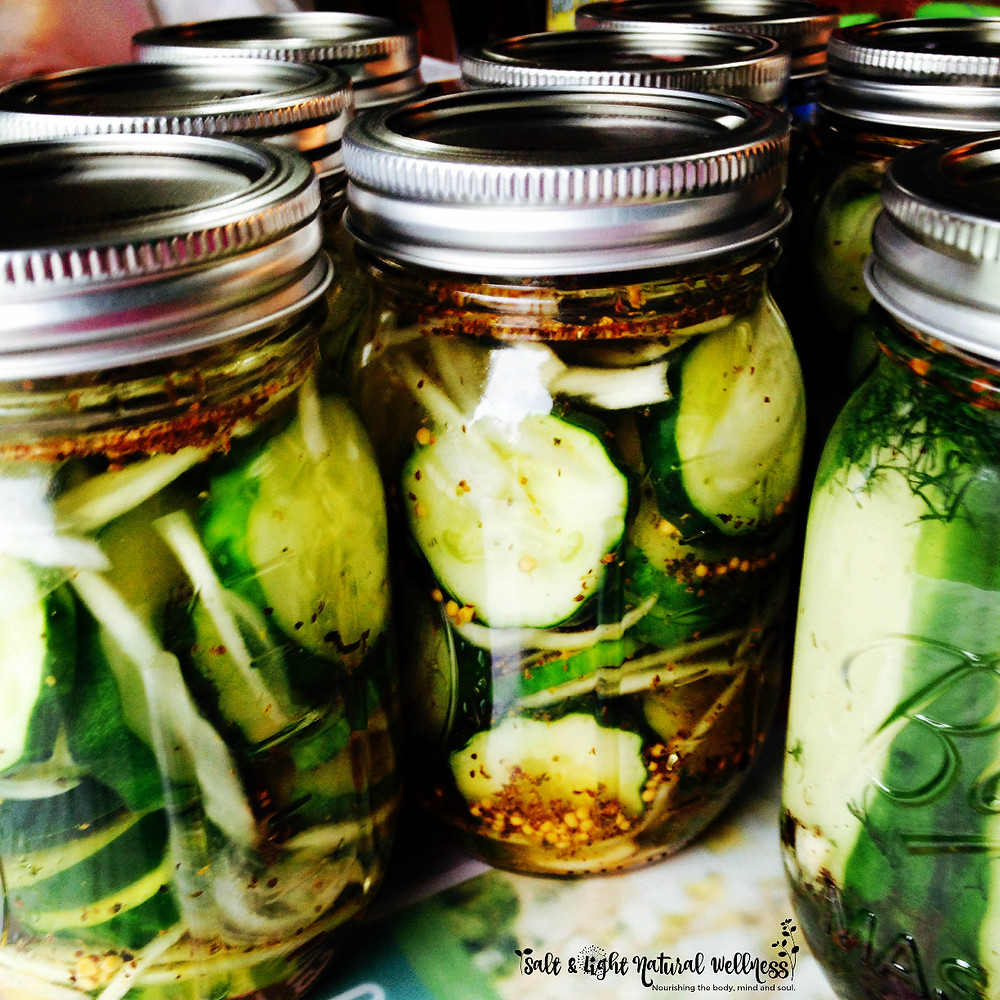 Favorite Pickle Recipe | Salt & Light Natural Wellness