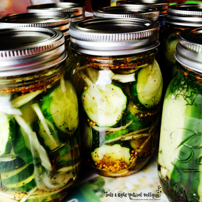 Recipe: Small Batch Fermented Dill Pickles