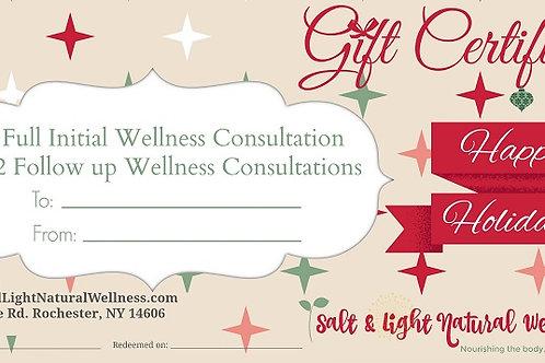 Full Wellness Combo Holiday Gift Certificate