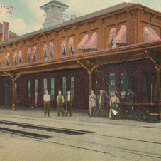 Early 1910s Hand Colored Postcard