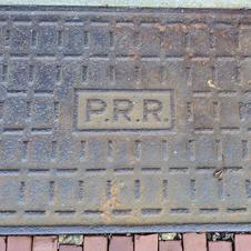 Cast Iron PRR Doormat
