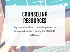 COVID19 Counseling Resources