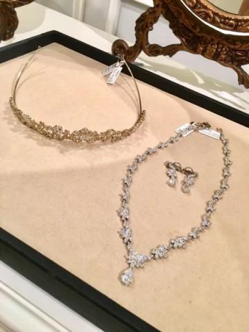 Lane's Bridal Necklace and Tiara