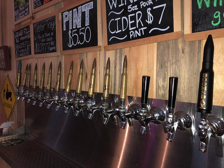 Doomsday tap handles