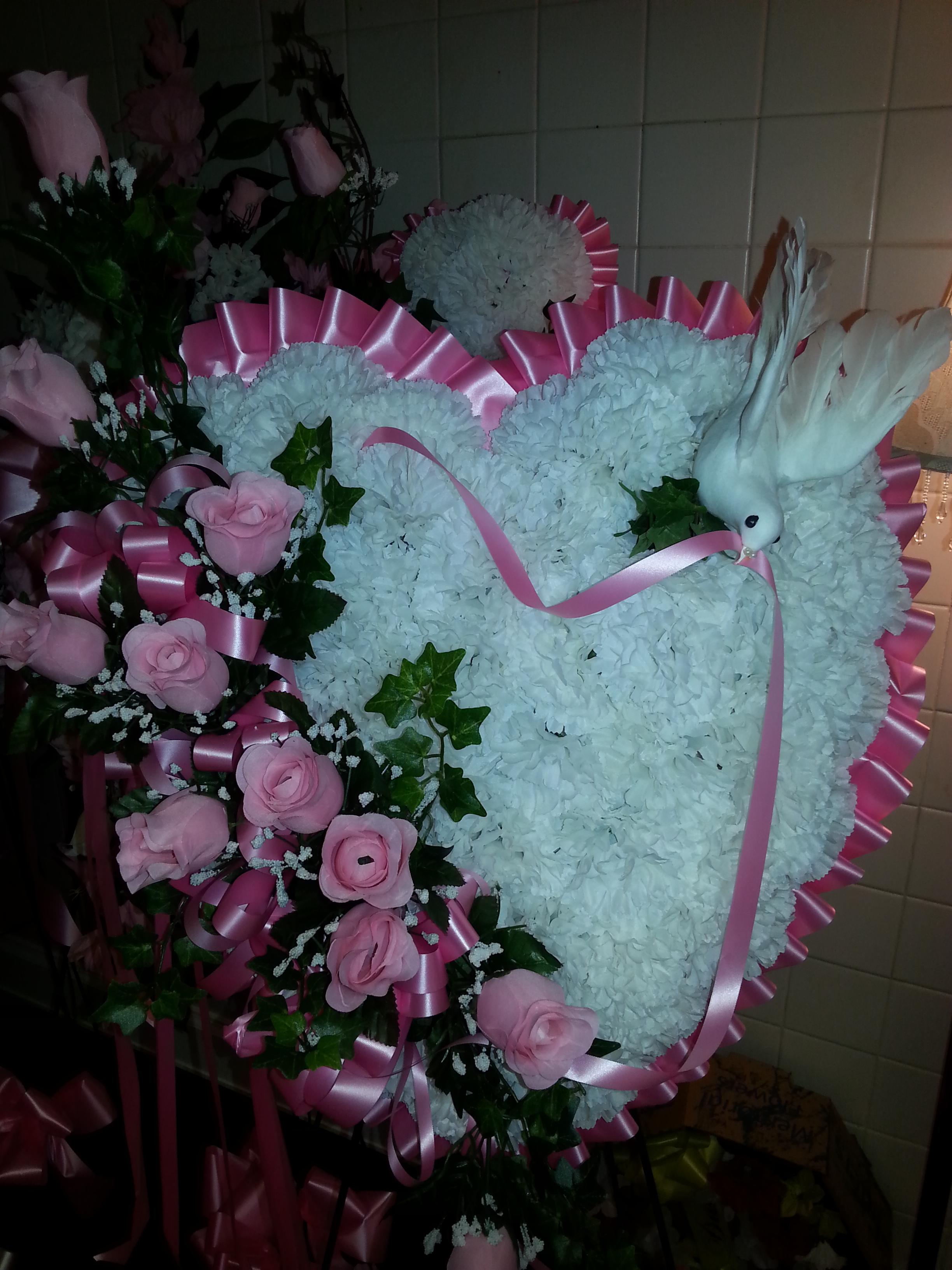 Silk Pink Heart