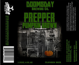 prepper pumpkin brown