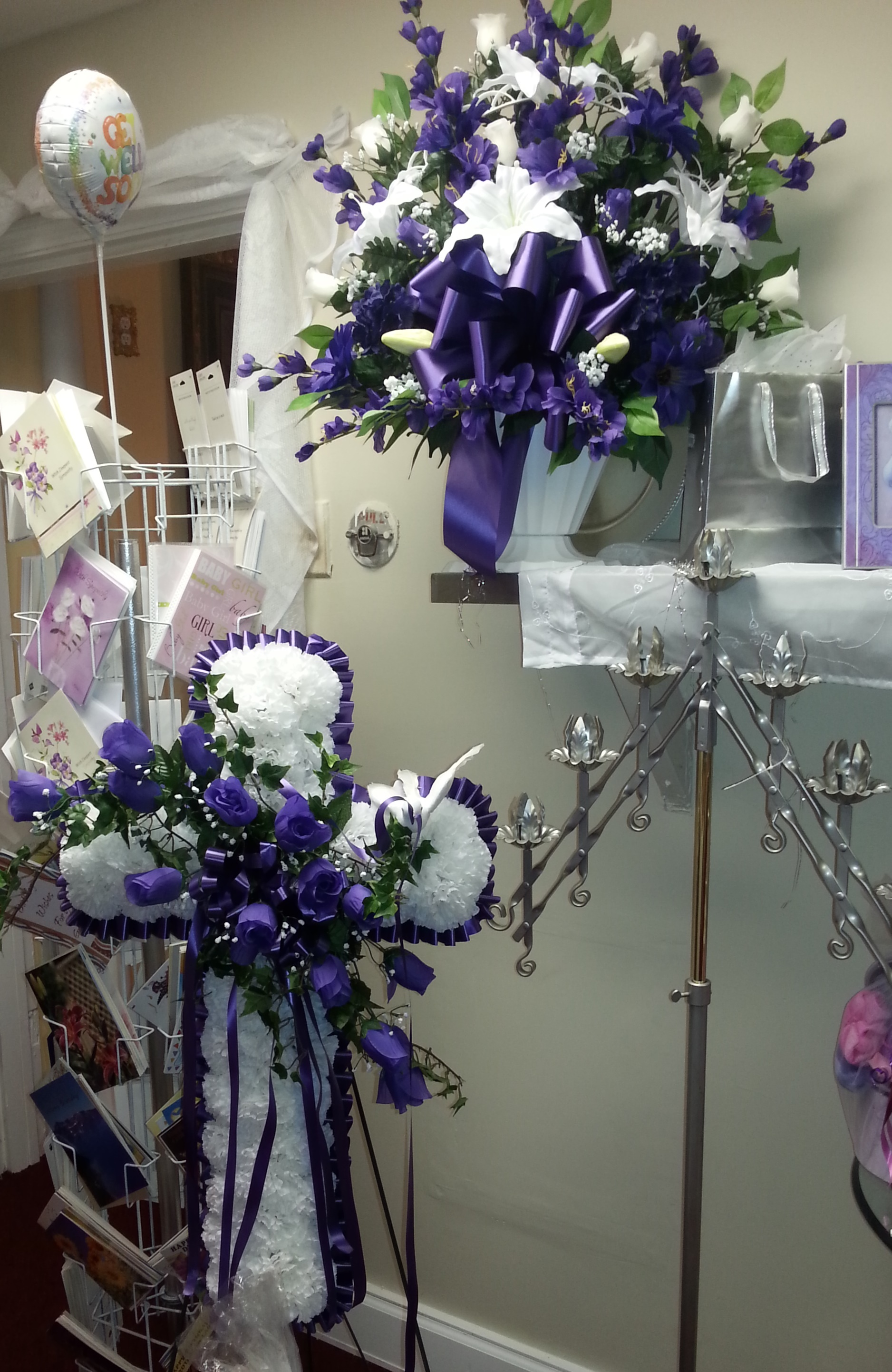 Silk Purple Cross