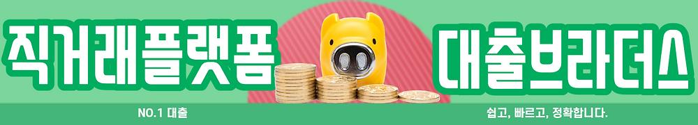 대출 직거래플랫폼 대출브라더스