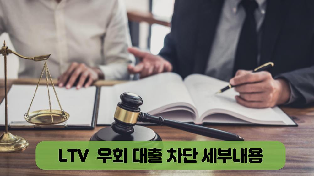 LTV 우회 대출 차단 세부내용