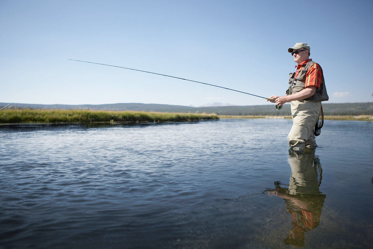 Fly Rod and Wader Combo