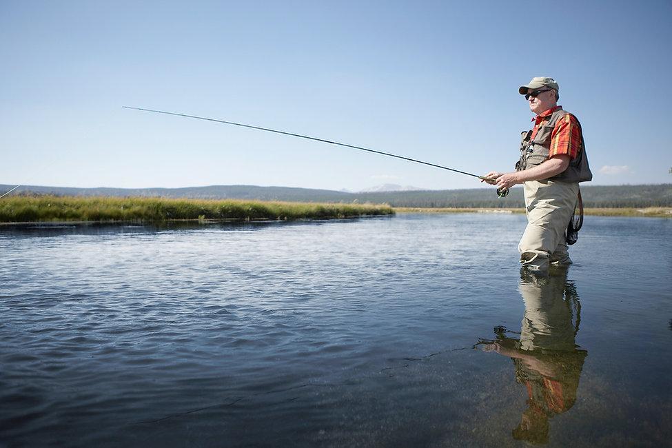 hombre de la pesca
