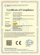 Eastlike LED TUBE CE-EMC IEC 55015 Certi