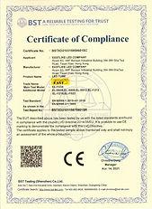 Eastlike LED TUBE CE-LVD -IEC60598-2-1 C