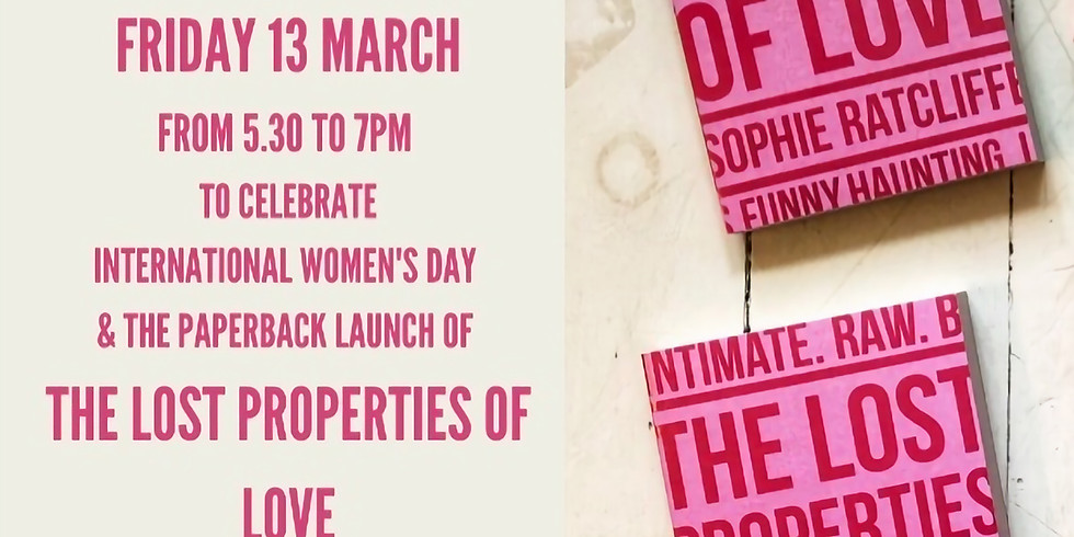 The Lost Properties of Love - An Evening with Dr. Sophie Ratcliffe
