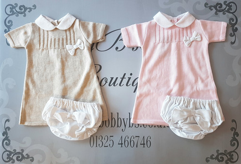 Knitted Jam Pants Sets Baby Spanish Traditional Clothing