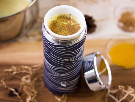 金色薑黃拿鐵