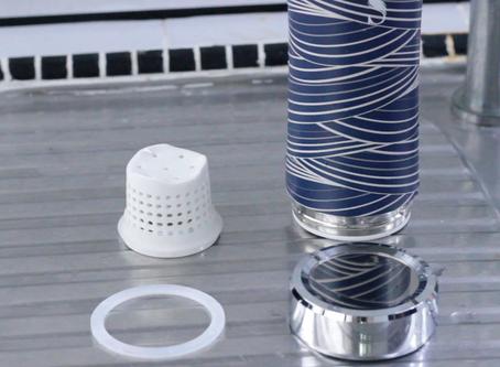 如何清潔SWANZ陶瓷保溫杯?