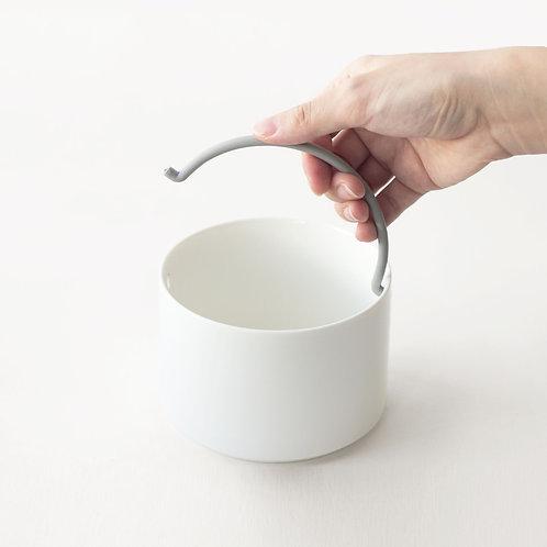 陶瓷碗(矽膠把手)