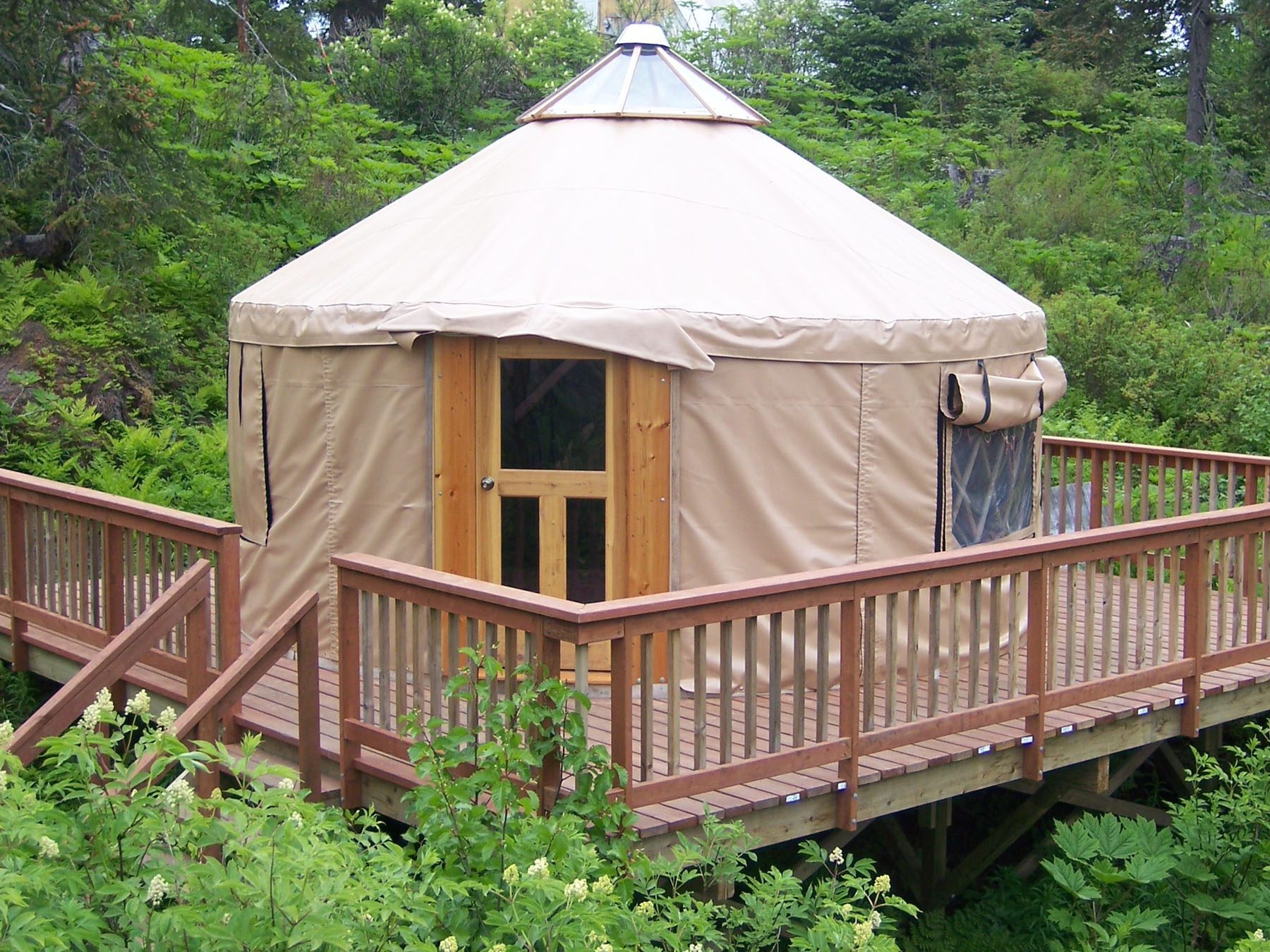 Peterson Bay Field Station Yurt, Homer1.