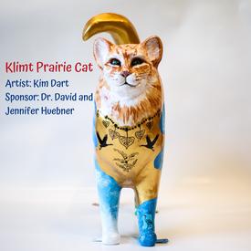 Klimt Prairie Cat