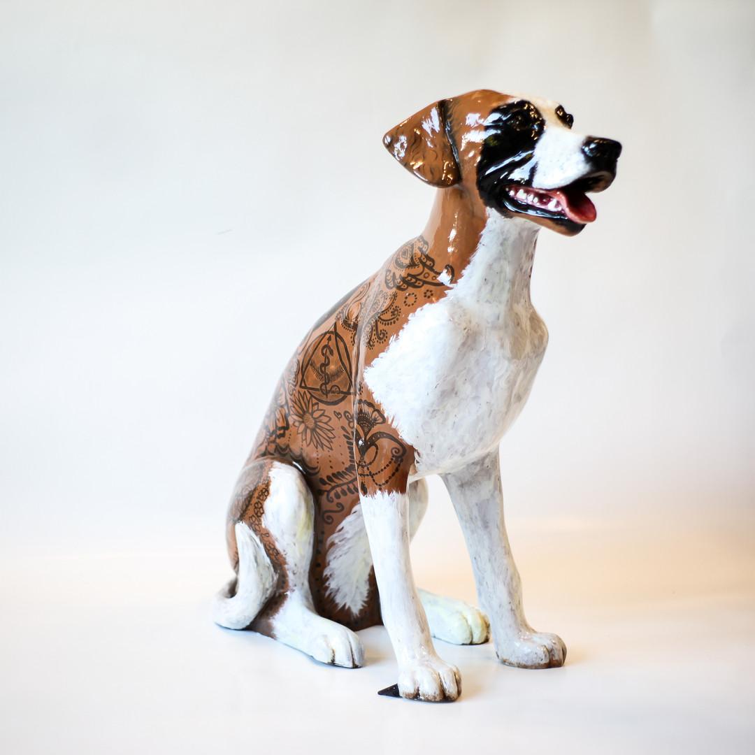 Gracie the Henna Dog