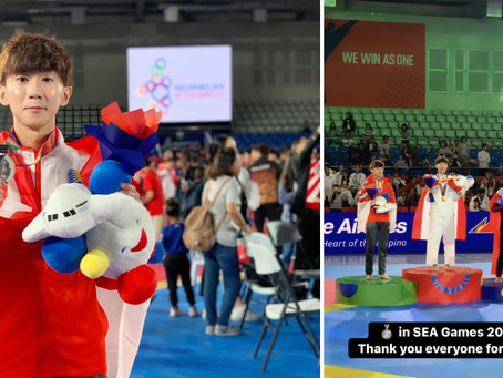Taekwondo athlete almost missed the 2019 SEA Games before achieving S'pore's best result in the even